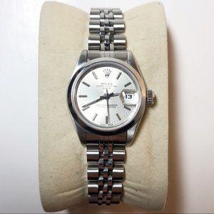 Rolex DateJust Watch 26mm Stainless Steel Jubilee